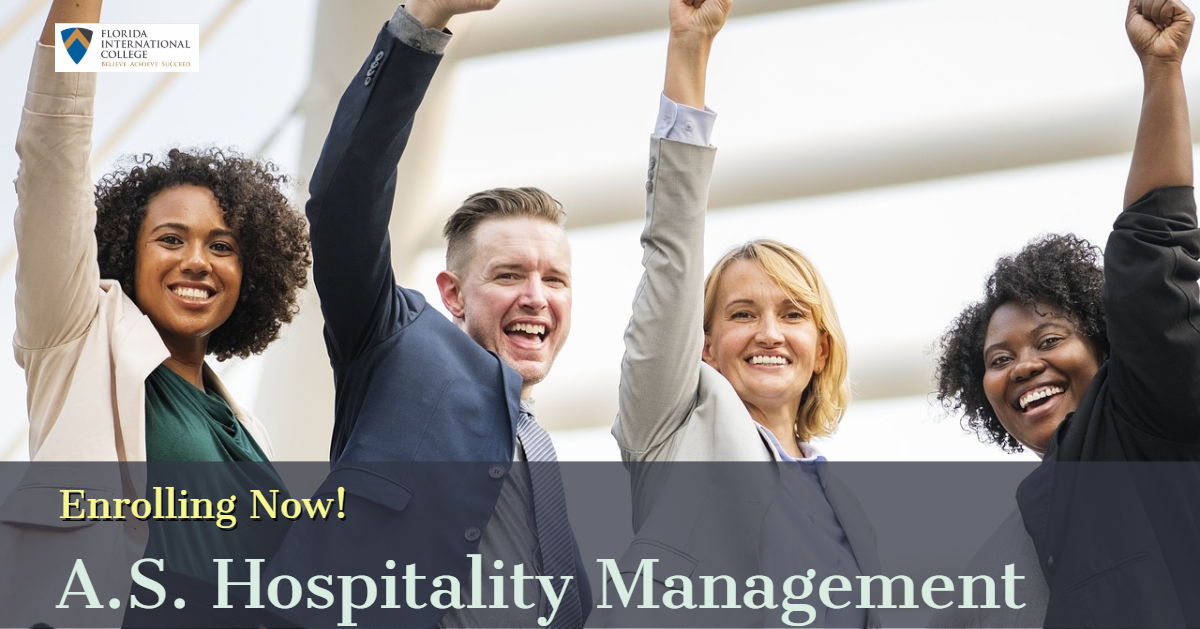Enrolling Now_hospitality